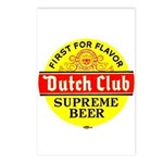 Dutch Club Beer-1952 Postcards (Package of 8)