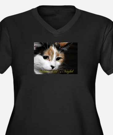 Calico Cat Chiara Plus Size T-Shirt