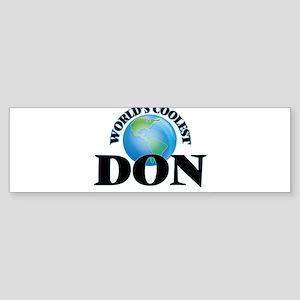 World's Coolest Don Bumper Sticker