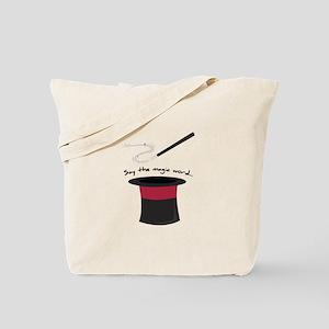 Magic Word Tote Bag