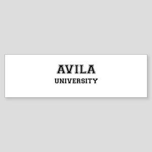 AVILA UNIVERSITY Bumper Sticker