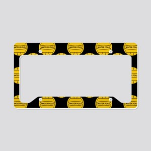 Water Polo Balls License Plate Holder