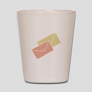 Envelopes Shot Glass
