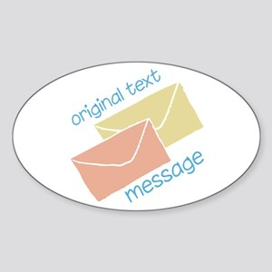 Text Message Sticker