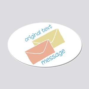 Text Message Wall Decal