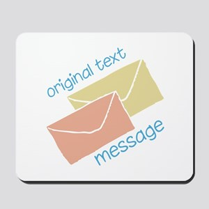 Text Message Mousepad