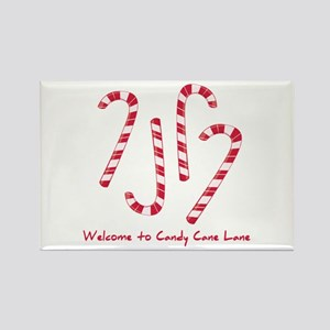 Welcome To Candy Cone Lane Magnets