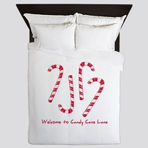 Welcome To Candy Cone Lane Queen Duvet