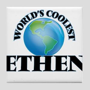 World's Coolest Ethen Tile Coaster