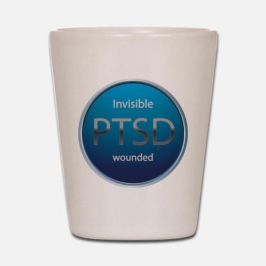 PTSD Shot Glass