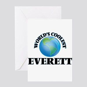 World's Coolest Everett Greeting Cards