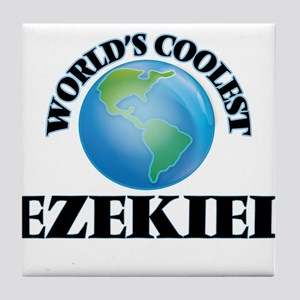 World's Coolest Ezekiel Tile Coaster
