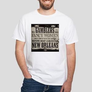 funny White T-Shirt