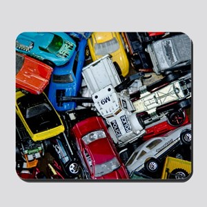 Vintage Toy Trucks and Cars Mousepad
