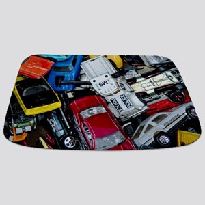 Vintage Toy Trucks and Cars Bathmat