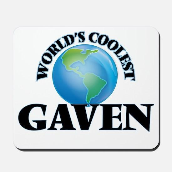 World's Coolest Gaven Mousepad