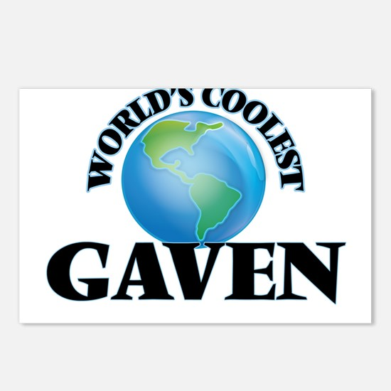 World's Coolest Gaven Postcards (Package of 8)