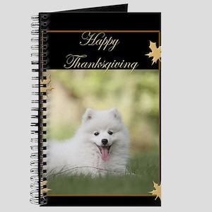 Thanksgiving American Eskimo Journal