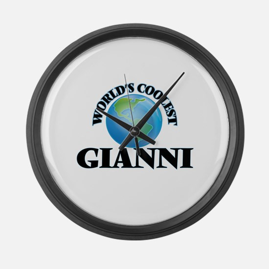 World's Coolest Gianni Large Wall Clock