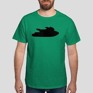 Jet ski jetskiing Dark T-Shirt