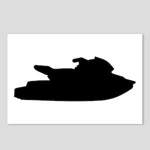 Jet ski jetskiing Postcards (Package of 8)