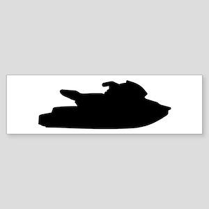 Jet ski jetskiing Sticker (Bumper)
