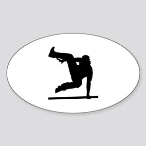 Parcouring Sticker (Oval)