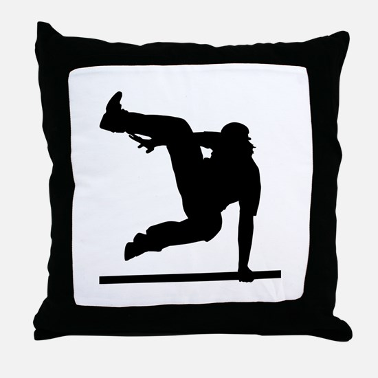 Parcouring Throw Pillow