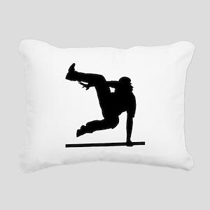 Parcouring Rectangular Canvas Pillow
