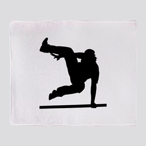 Parcouring Throw Blanket