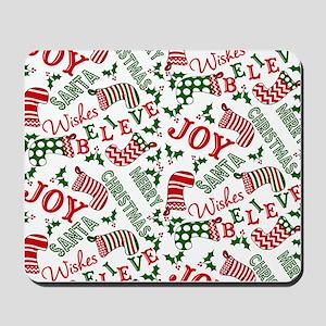 merry christmas joy Mousepad