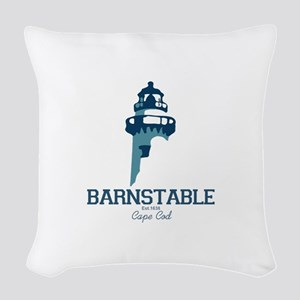 Barnstable - Cape Cod. Woven Throw Pillow