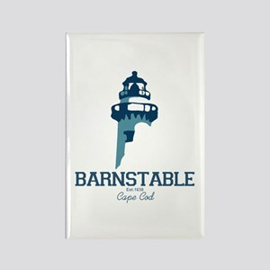 Barnstable - Cape Cod. Rectangle Magnet Magnets