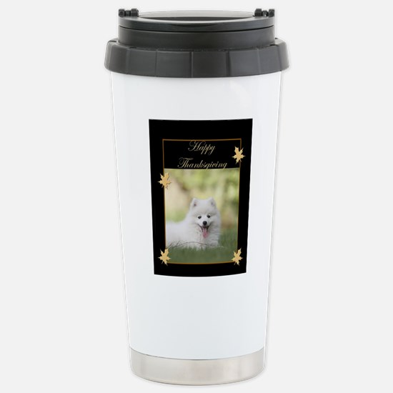 Thanksgiving American Eskimo Mugs