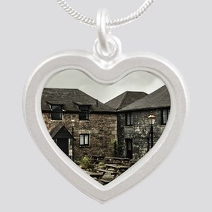 Jamaica Inn Silver Heart Necklace