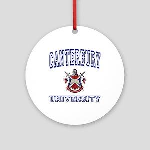 CANTERBURY University Ornament (Round)
