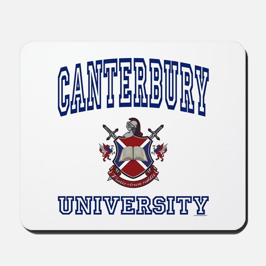 CANTERBURY University Mousepad
