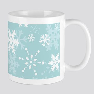 Snowflake Christmas Holiday Mug