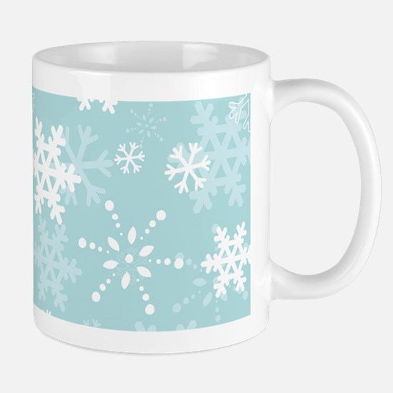 Snowflake Christmas Holiday Mug