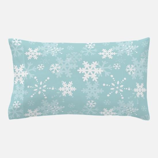 Snowflake Christmas Holiday Pillow Case