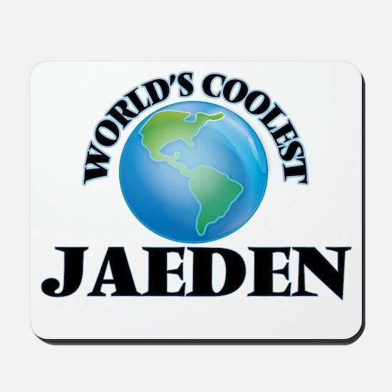 World's Coolest Jaeden Mousepad