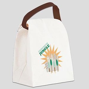 Concrete Jungle Canvas Lunch Bag