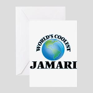 World's Coolest Jamari Greeting Cards