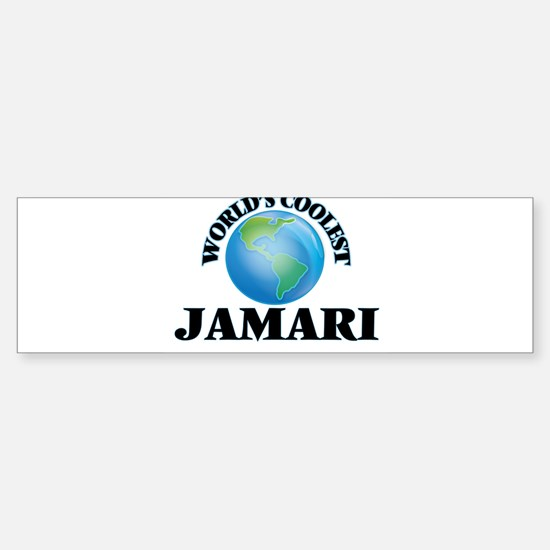 World's Coolest Jamari Bumper Bumper Bumper Sticker