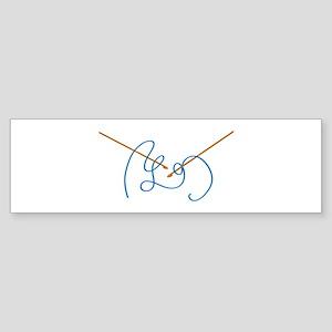 Crochet Bumper Sticker