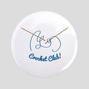 "Crochet Club 3.5"" Button"