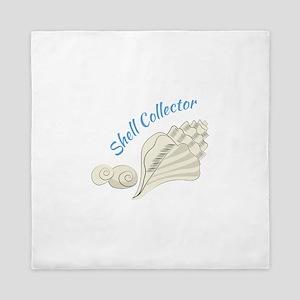 Shell Collector Queen Duvet