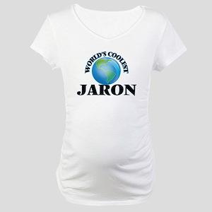 World's Coolest Jaron Maternity T-Shirt