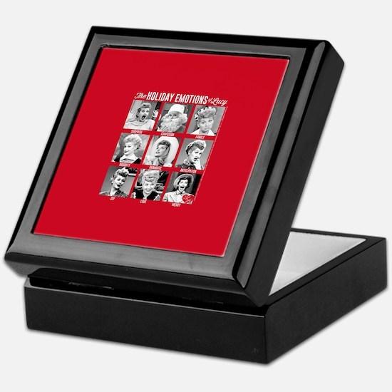 Lucy Holiday Emotions Keepsake Box