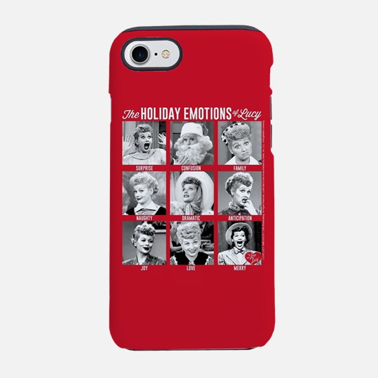Lucy Holiday Emotions iPhone 7 Tough Case